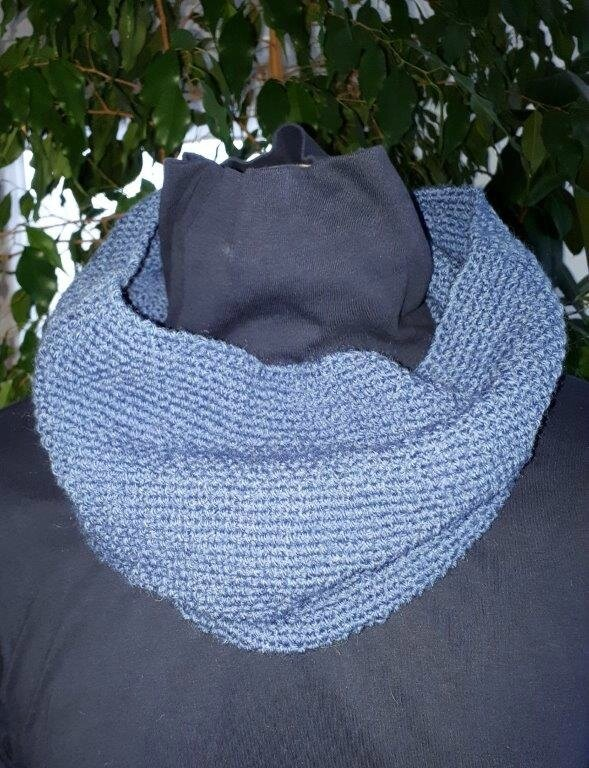 snood bleu a