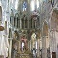 un choeur gothique flamboyant