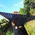 Mon nouveau châle / my new shawl