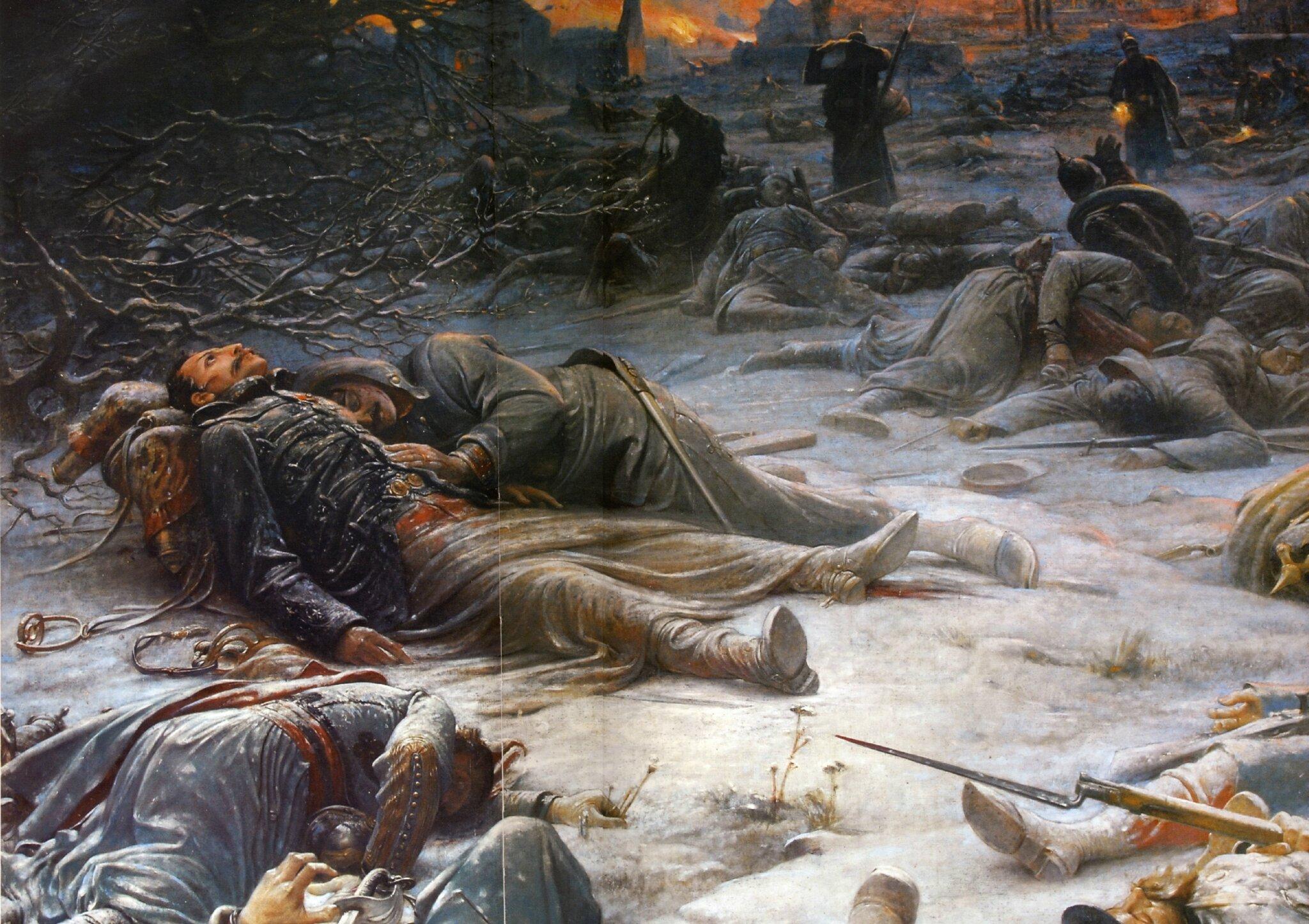 Royer mort du général de Sonis à Loigny