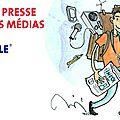 Semaine de la presse et des médias à l'ecole