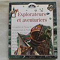 Explorateurs et aventuriers, collection les clés de la découverte, éditions nathan 1997