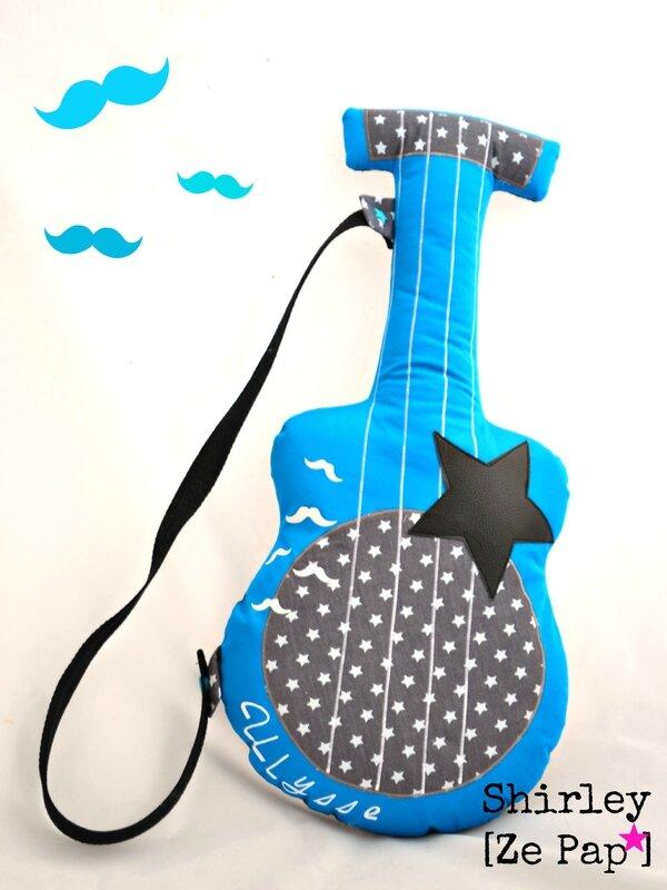 guitare tissu