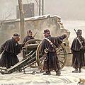 Chaperon, Bataille sous la neige en 1870