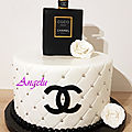 Gâteau chanel - flacon