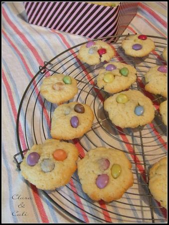 Cookies aux Smarties 001