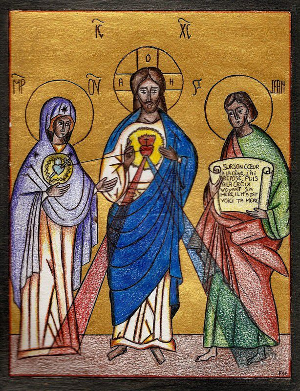 Les Coeurs Unis de Jésus et de Marie