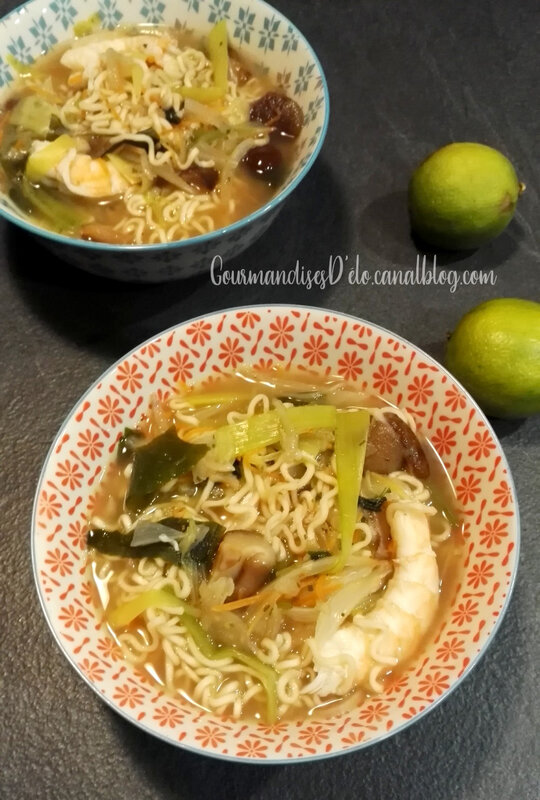 Soupe chinoise miso (1)