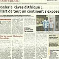 Article de La Tribune Le Progrès du 9 septembre 2013