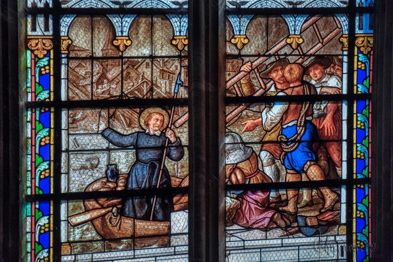 Sur les pas de Saint Louis-Marie Grignion de Montfort, le tricentenaire de l'arrivée de Marie-Louise Trichet à St-Laurent-sur-Sèvre (6)