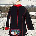 2012-12 manteau Petit Chaperon rouge avec Galingale