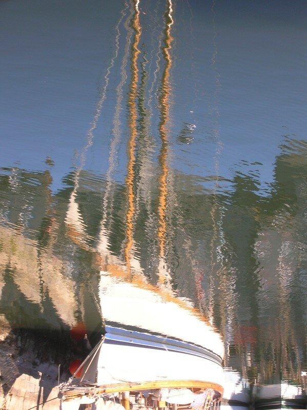 Honfleur: bateau fantôme