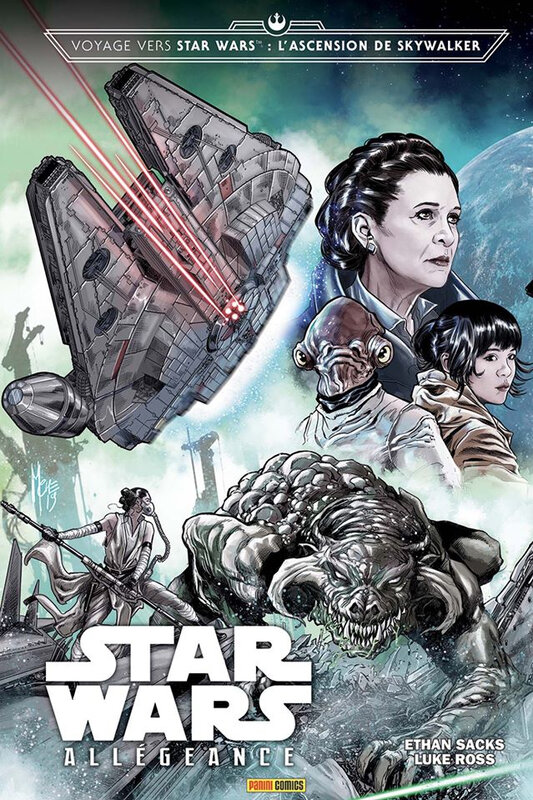 panini 100% star wars l'ascension de skywalker allégeance