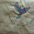 Oiseau messager de Nathalie