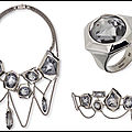 Collection reverse - bagues - boucles d'oreilles - bracelets - colliers - jean paul gaultier for atelier swarovski - + video