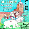 Salon du livre saulieu (21) les 29 et 30 octobre 2016
