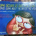 Livre anglais/français (bilingue): sophie découvre les jours de la semaine - sophie learns about the days of the week