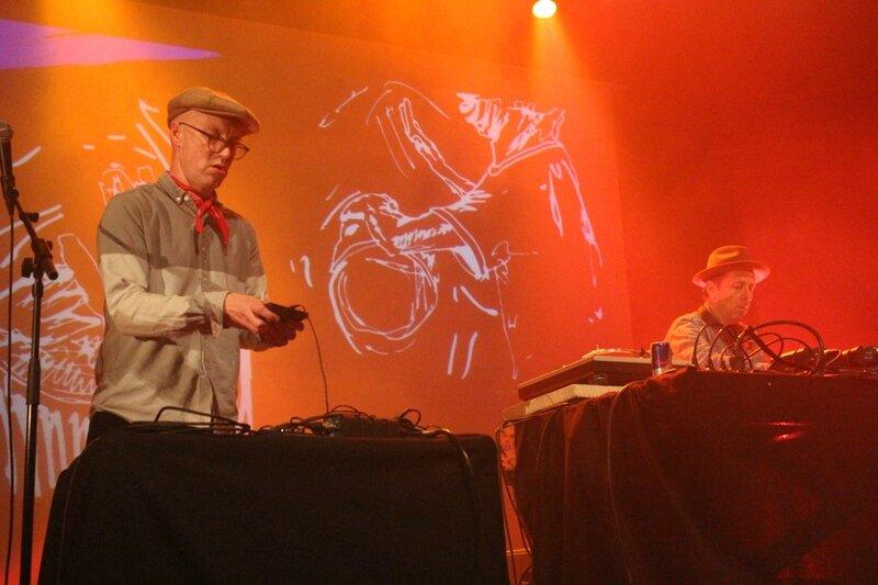 Gilles Peterson MC Earl Zinger DJ Caen Red Bull Academy 2015 le Cargo