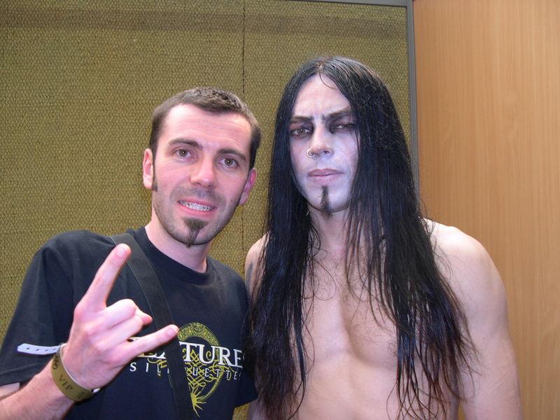 Frost (batterie) de SATYRICON (Hellfest 2008)