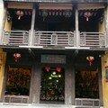 Vieille boutique, facade en bois, Hoi An
