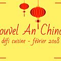 Resultats du defi du nouvel an chinois