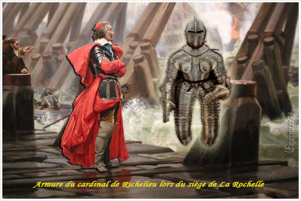 Armure du cardinal de Richelieu lors du siège de La Rochelle