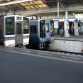 JR trains at Takamatsu eki
