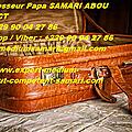 Comment gagne assez d'argent avec la valise mystique de fortune en 24h, 48h, 72, 7 jours: maître papa samari abou le puissant