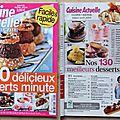 Ma revue de presse culinaire française pour avril 2014 (+ vidéo)