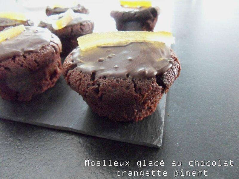 moelleux glacé au chocolat orangette piment