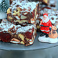 Christmas rocky road bars
