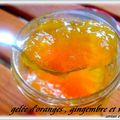 Gelee d'orange au gingembre et whisky // marmelade d'orange à la vanille