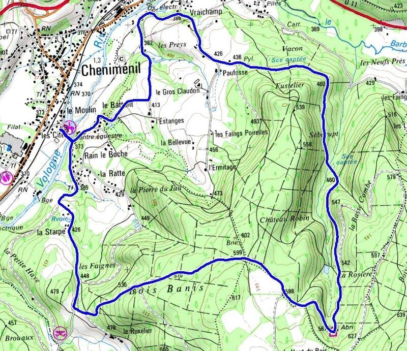 456 - Cheniménil centre équestre