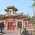 HOI AN - Pagode rouge