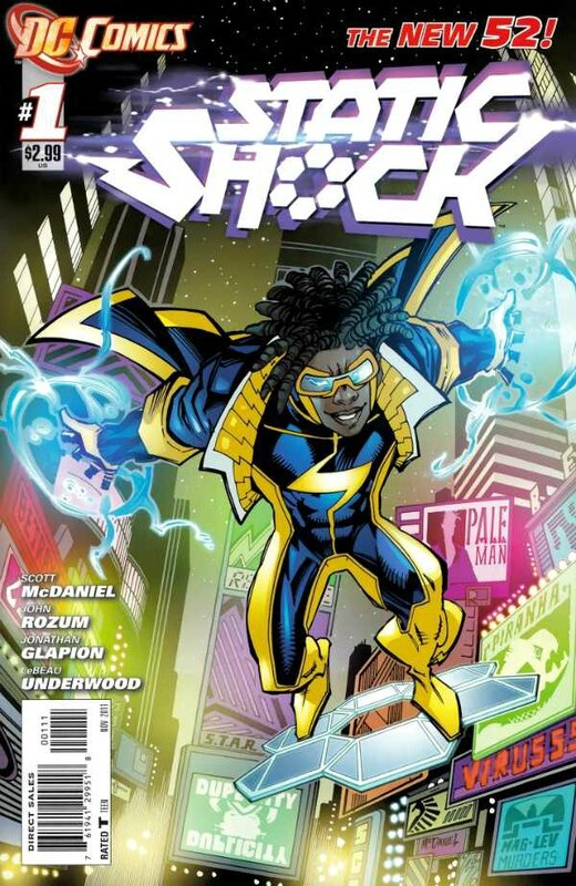 new 52 static shock 01