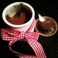 Les petits pots de crèmes au chocolat