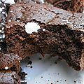 Gâteau chocolaté-2 ingrédients seulement