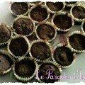 Petits pêchés au chocolat sans caséine sans gluten