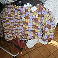 manteau en fils à tricoter bouboule