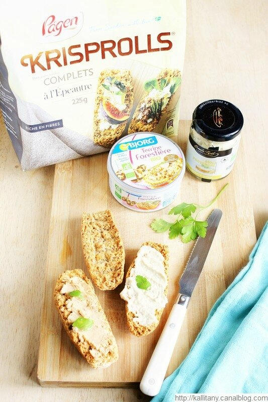 Blog culinaire Kallitany Brunch végétarien Krisprolls Borg Emile Noël (2)