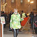 2015 - avril - 5 (samedi) - Défilé FEMMES EN CIRES au salon Jardins d'Artistes de TOUQUES (50)