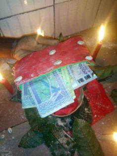 PORTEFEUILLE MAGIQUE VRAI EN DOLLARS, EUROS, FCFA DU MARABOUT ILEKAMBI