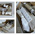 Champignon assemblage bois