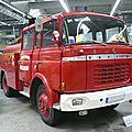 Berliet gak fourgon pompe tonne sapeurs-pompiers 1964