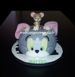 Gâteau Tom et Jerry 2