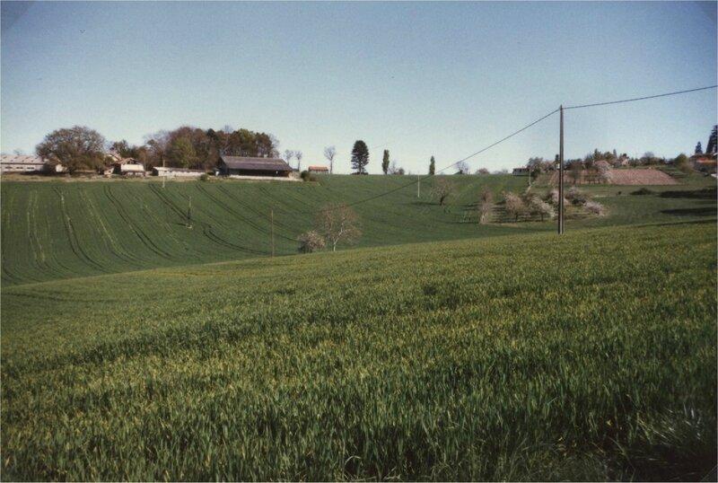 entre la Borie et Réjaillac