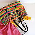 Cabas en sacs plastique recyclés-DIY-crochet- récup-upcycling-tote bag-La chouette bricole (2)