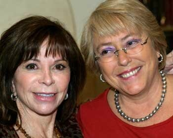with michelle bachelet