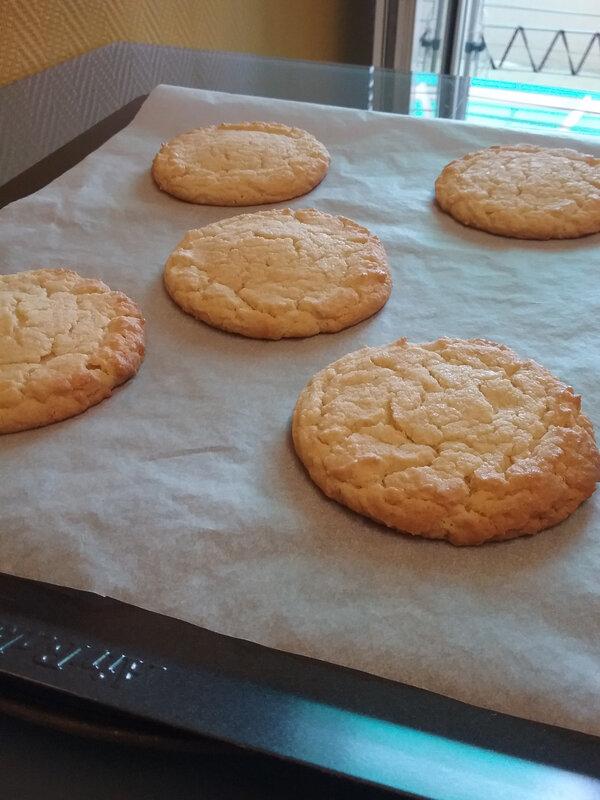 Cookies à la farine de maïs 008
