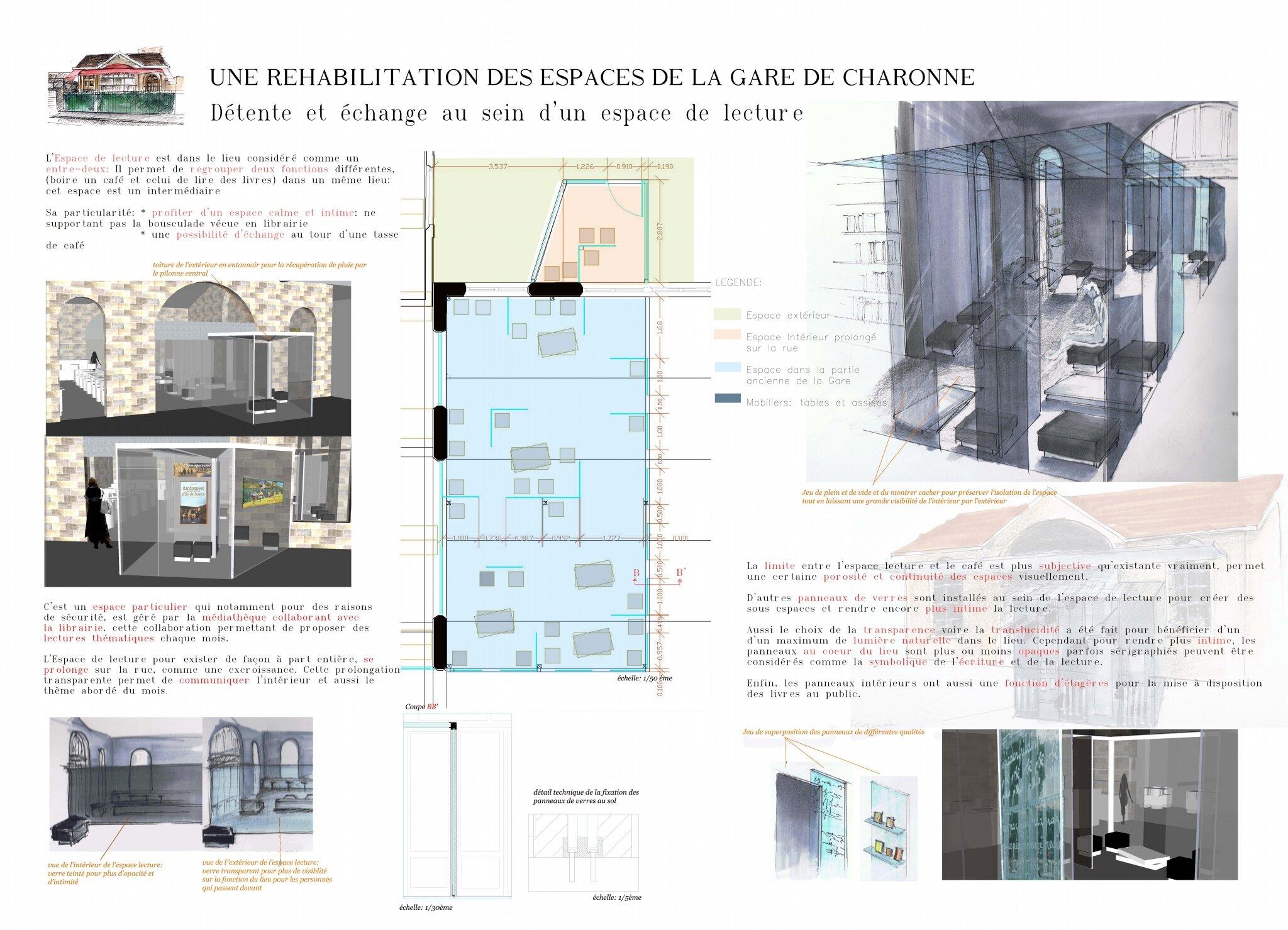Gare de Charonne ARCHI INT